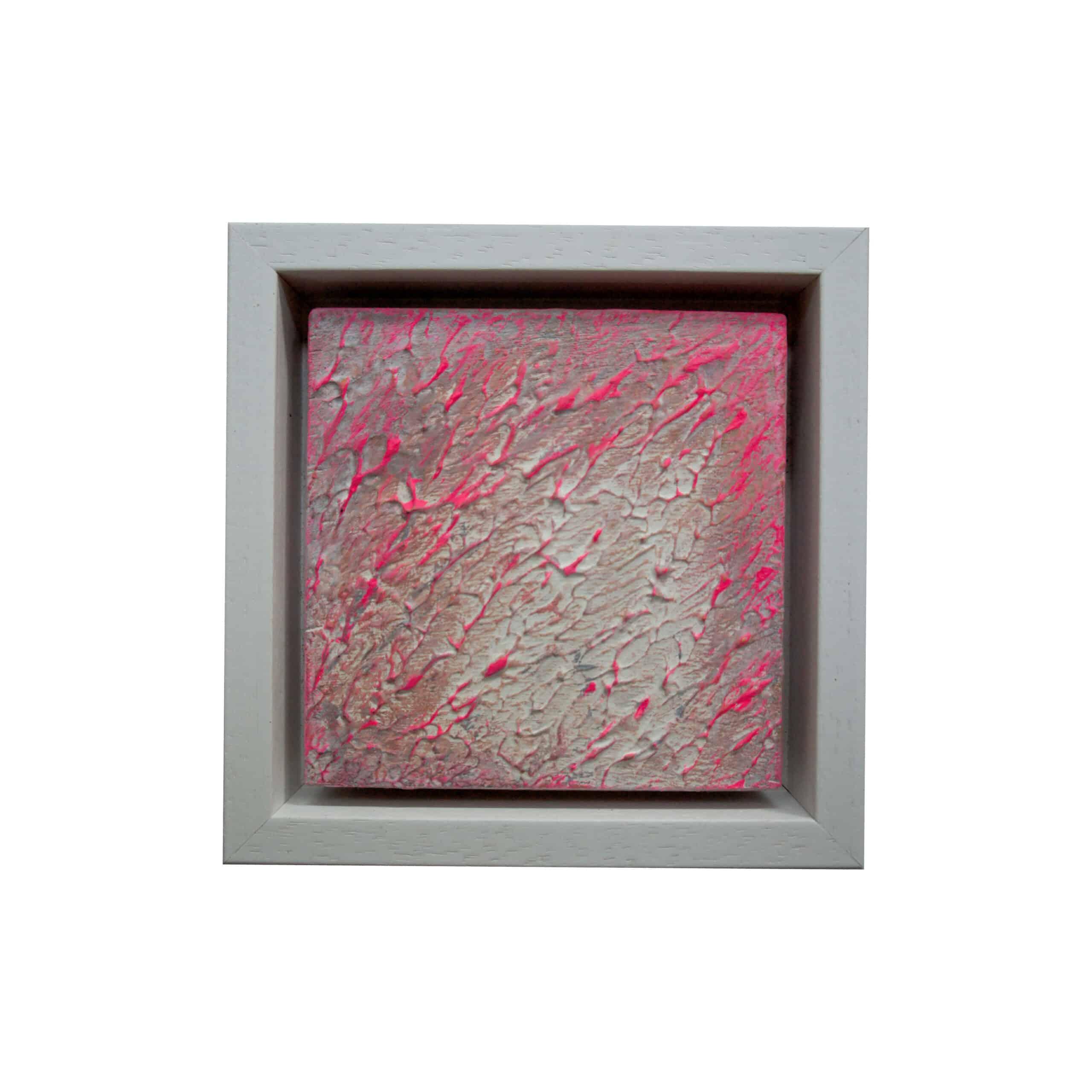 Zandstructuren acryl op hout